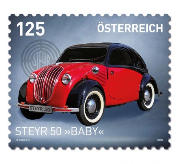 2018 Austria Steyr 50 Baby tematica Automobili MNH/**