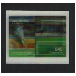 2008 Austria Andi Herzog Unusual Stamps Lenticolare