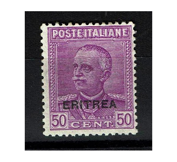 1928 Colonie Eritrea 50c Sas.136 sovrastampato MNH/**