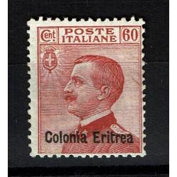 1918 Colonie Eritrea 60cent Michetti sovrastampato MNH/**