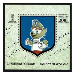 2017 Russia Fifa 2018 world cup Folder Lenticolare Unusual