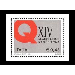 2005 14ª esposizione quadriennale Roma MNH/**