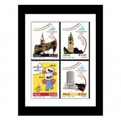 2005 XX giochi olimpici invernali Torino 2006 MNH/**