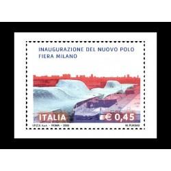 2005 Inaugurazione nuovo polo fiera Milano MNH/**