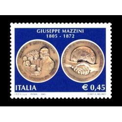 2005 Bicentenario nascita Giuseppe Mazzini MNH/**