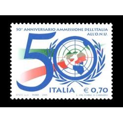 2005 ammissione dell'Italia all'O.N.U. MNH/**