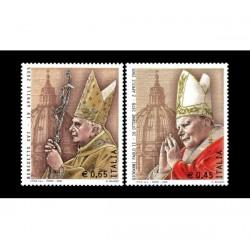 2005 Papa Giovanni Paolo II e Benedetto XVI MNH/**