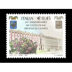 2005 ricostituzione provincia Caserta MNH/**