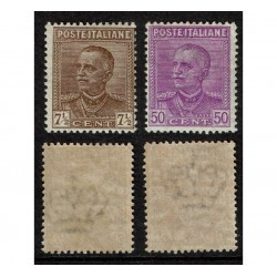 1928 Regno Parmeggiani Sas.224/225 Nuovi MNH/**