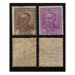 1928 Regno Parmeggiani Sas.224/225 Nuovi MLH/*