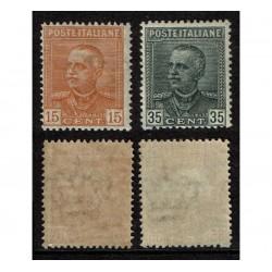 1929 Regno Parmeggiani Sas.240/241 Nuovi MNH/**