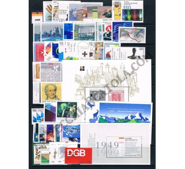 1999 Germania Federale Annata completa MNH/**