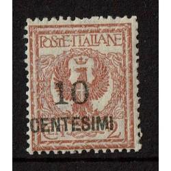 1923 Regno 10cent su 2cent Sas.138 Nuovo MNH/**