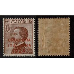 1924 Regno Crociera Italiana 85 cent Sas.166 Nuovo MNH/**