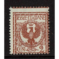 1901 Regno Floreale 2cent Sas.69 Nuovo MNH/**
