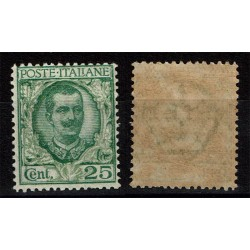 1926 Regno Floreale 25cent Sas.200 Nuovo MNH/**