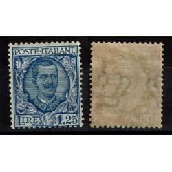 1926 Regno Floreale 1,25 Lire Sas.202 Nuovo MNH/**
