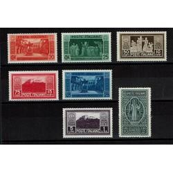 1929 Fondazione Abazia Montecassino serie nuova MNH/**