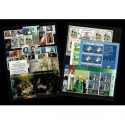 2010 Vaticano annata completissima 7 BF + 2 Libretto speciale minilibro