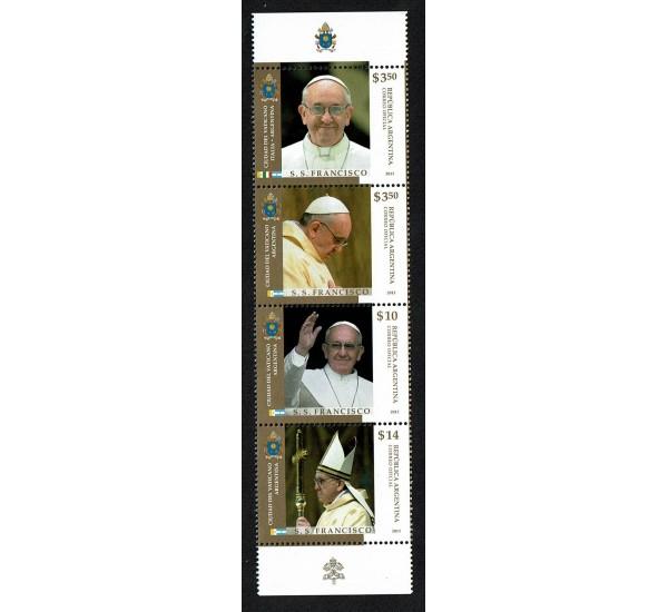 2013 Argentina Papa Francesco Congiunta (Joint issue)