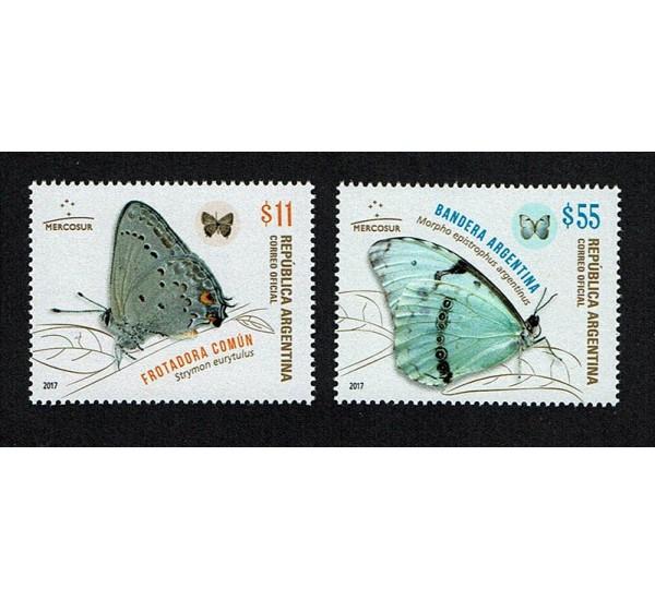2017 Argentina tematica Farfalle