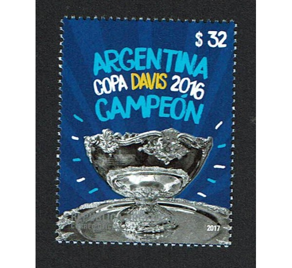 2017 Argentina Campioni della Coppa Devis 2016
