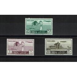 1939 Colonie Libia - 13° fiera di Tripoli Posta Aerea MH/*