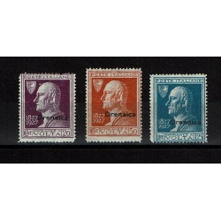 1927 Colonie Cirenaica Alessandro Volta sovrastampati MNH/**