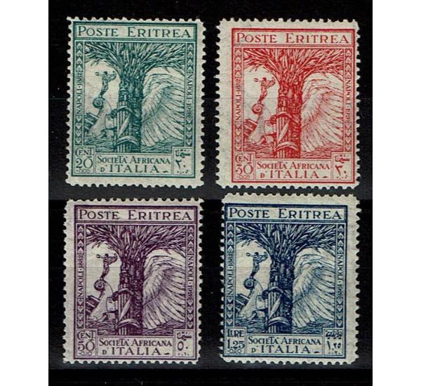 1928 Colonie Eritrea Pro Società Africana d'Italia MH/*