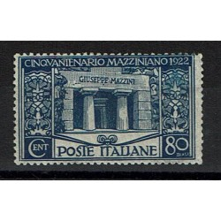 1922 Regno Giuseppe Mazzini 80cent Sas.130 MNH/**