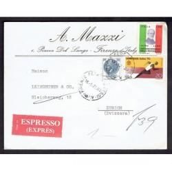 1972 Lettera Espressa da Firenze a Zurigo