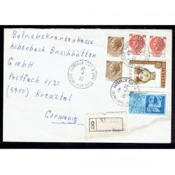 1978 Raccomandata San Nicandro Garganico a Kreuztal