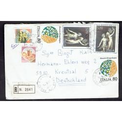 1987 Raccomandata da Bianco (RC) a Kreuztal (Germania)