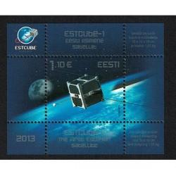 2013 Estonia Primo Satellite Estone foglietto