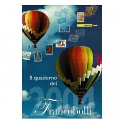 Il Quaderno dei francobolli completo 2004