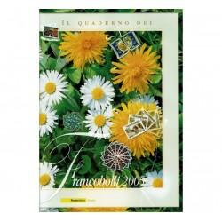 Il Quaderno dei francobolli completo 2005