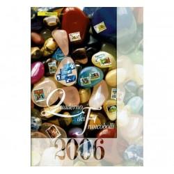 Il Quaderno dei francobolli completo 2006