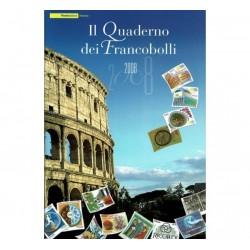 Il Quaderno dei francobolli completo 2008