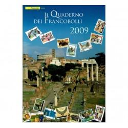 Il Quaderno dei francobolli completo 2009