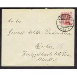 1921 Lettera da Merano a Berlino 60c Michetti isolato