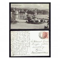 1927 Cartolina FP BN Santa Margherita Ligure per Danimarca