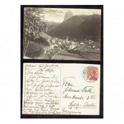 1925 Cartolina FP BN Ortisei per Berlino - Michetti