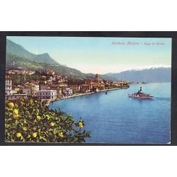 1939 Cartolina FP Gardone Riviera Lago del Garda per Danimarca