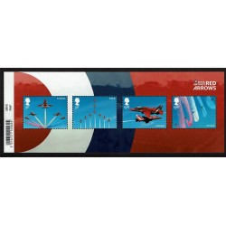 2018 Gran Bretagna Royal Air Force (RAF) Foglietto MNH/**