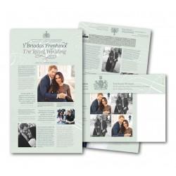 2018 Gran Bretagna Folder Matrimonio Reale Henry & Megan