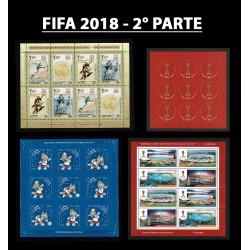 Russia Mondiali di Calcio FIFA 2018 - Raccolta 2° parte