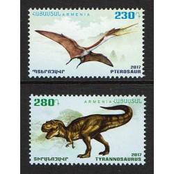 2017 Armenia Dinosauri: Pterosauro e Tirannosauro