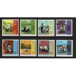 2018 Isola di Man Rally Scooter serie MNH/**