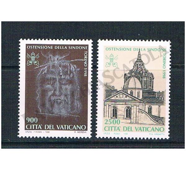 1998 - Ostensione della Sindone nel Duomo di Torino