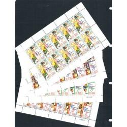 2000 - XV giornata mondiale della gioventù - Minifogli Sottofacciale